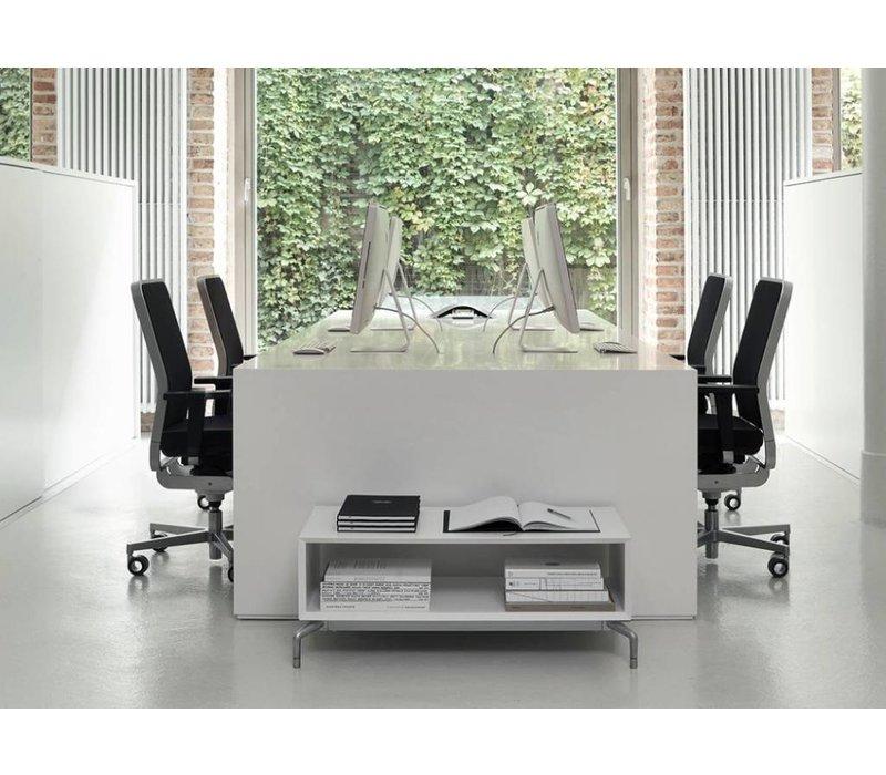 W-1 High bureaustoel met netrug