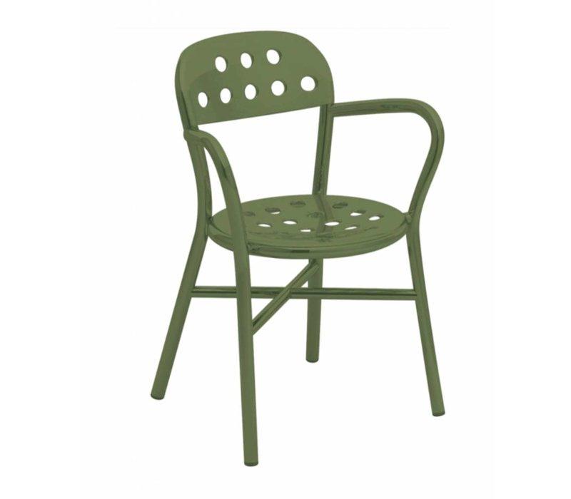 Pipe Chair stoel met armleuning