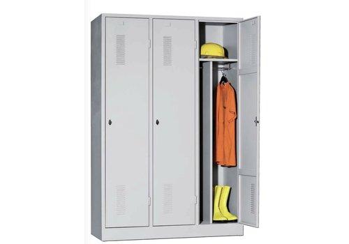 BNO Metalen vestiairekasten met 1 tot 3 deuren