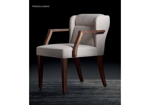Riccardo Rivoli Neoclassic stoel met of zonder armleuning