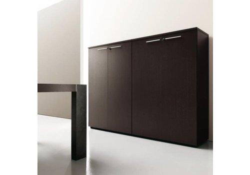 Office & Co Halfhoge kasten met deur - 118H cm
