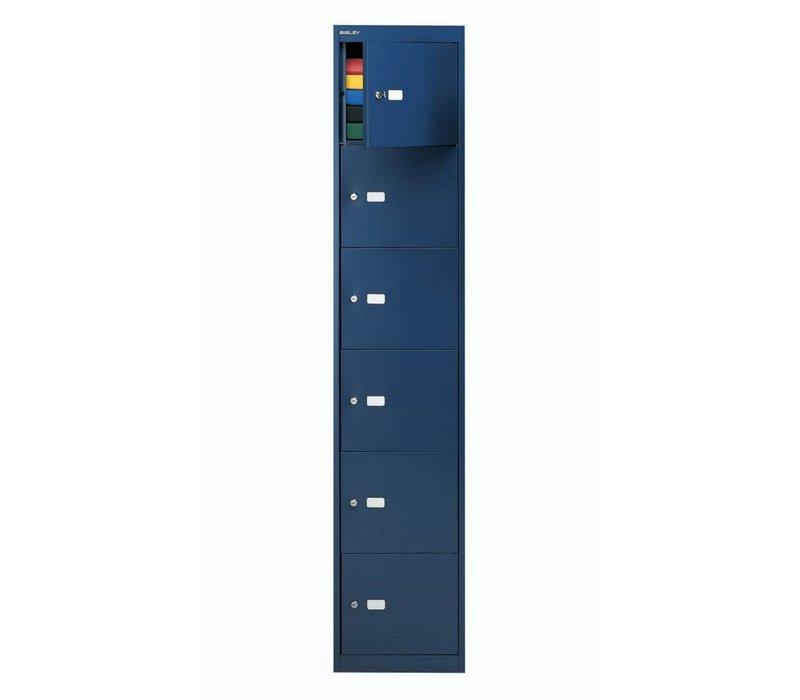 Vestiaire métallique 6 compartiments