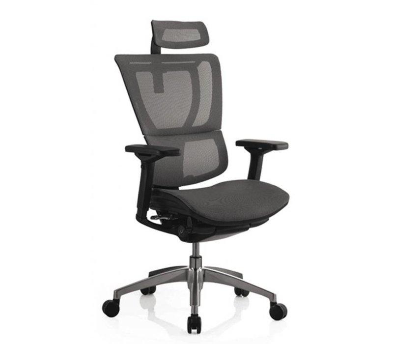 Monaco net bureaustoel met hoofdsteun