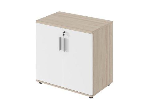 Polmarco Type lage kast met deuren - 74H cm