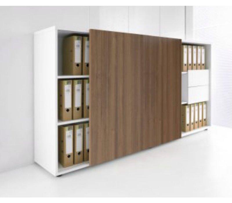 Zig Zag armoire avec porte coulissante