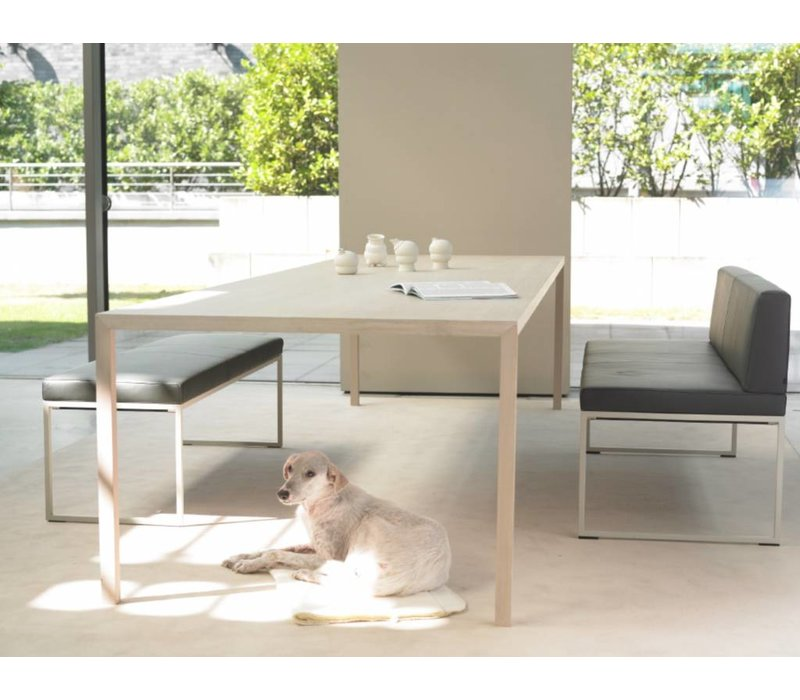 Slim+ table en chêne