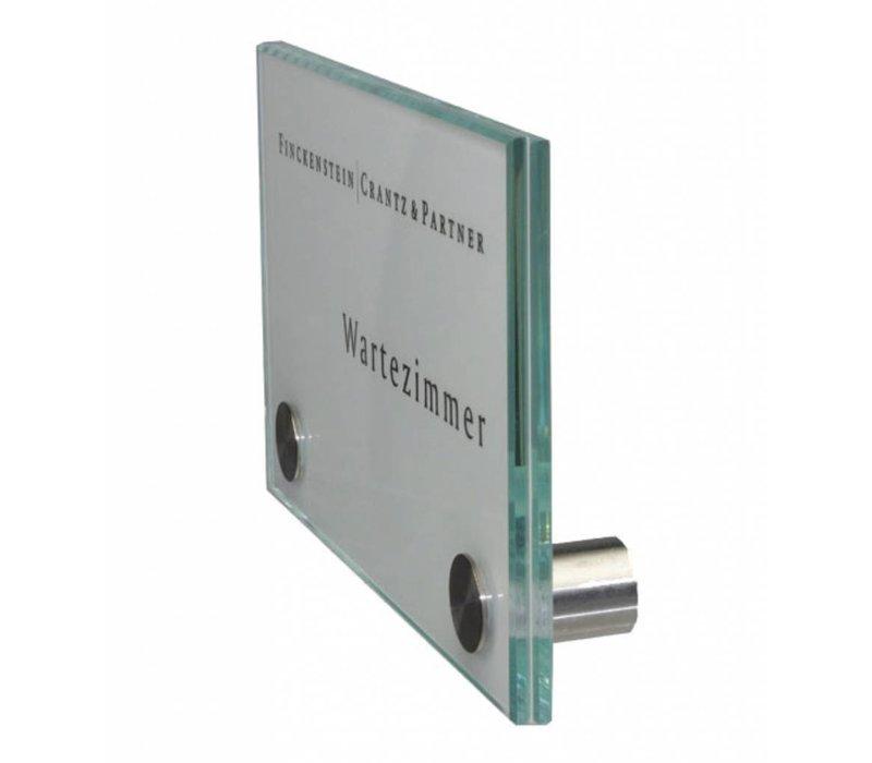 Cristallo deurbordje - 10h x 16b x 2,8d cm