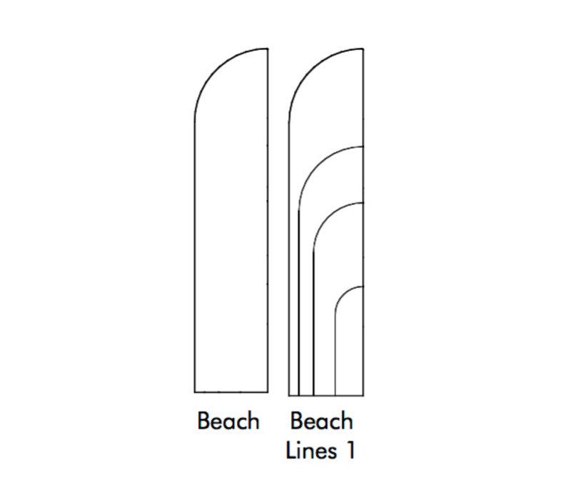 BuzziBlinds Beach Scheidingswand
