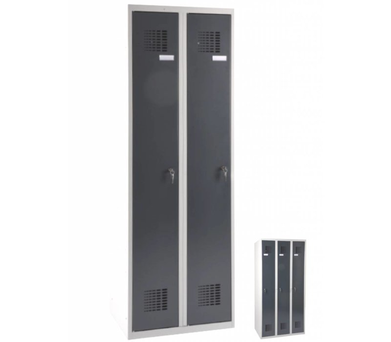 Scoop garderobekasten met 2 of 3 deuren