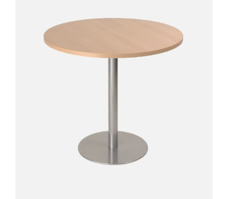 Scoop ronde tafels  H 74cm