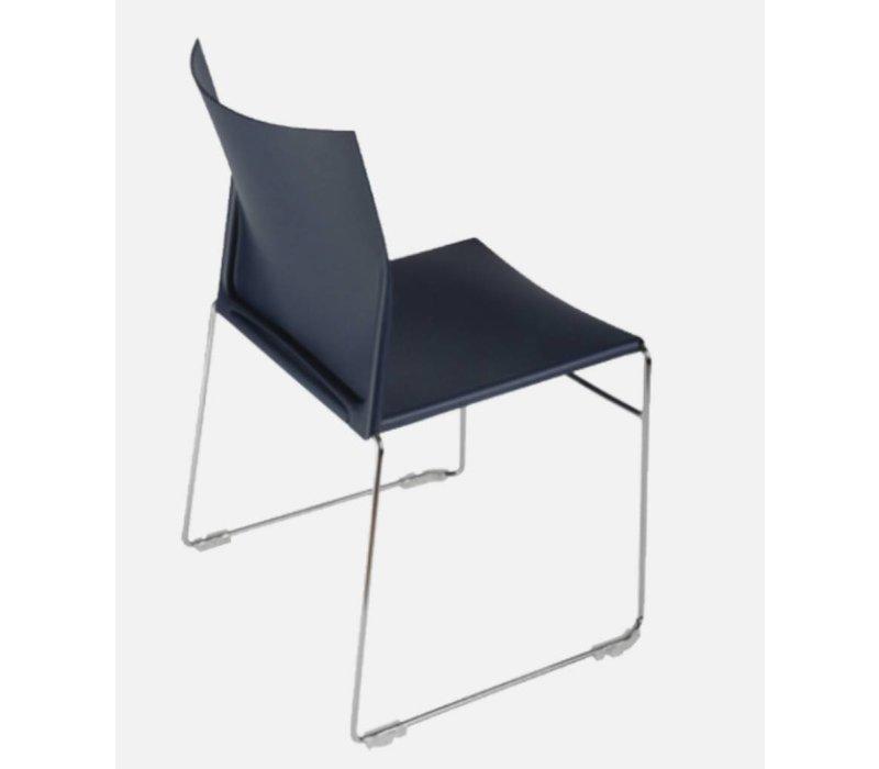 Scoop stapelbare stoel