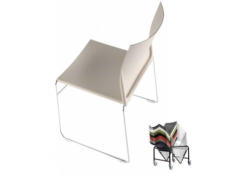 BNO Scoop chaise empilable