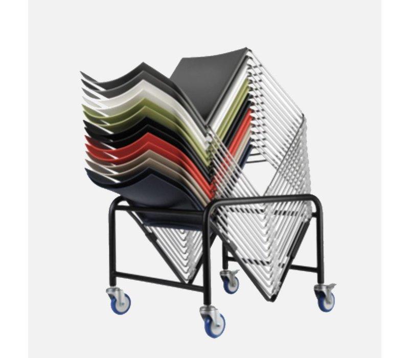 Scoop chaise avec accoudoirs