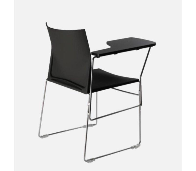 Scoop stoel met schrijftablet