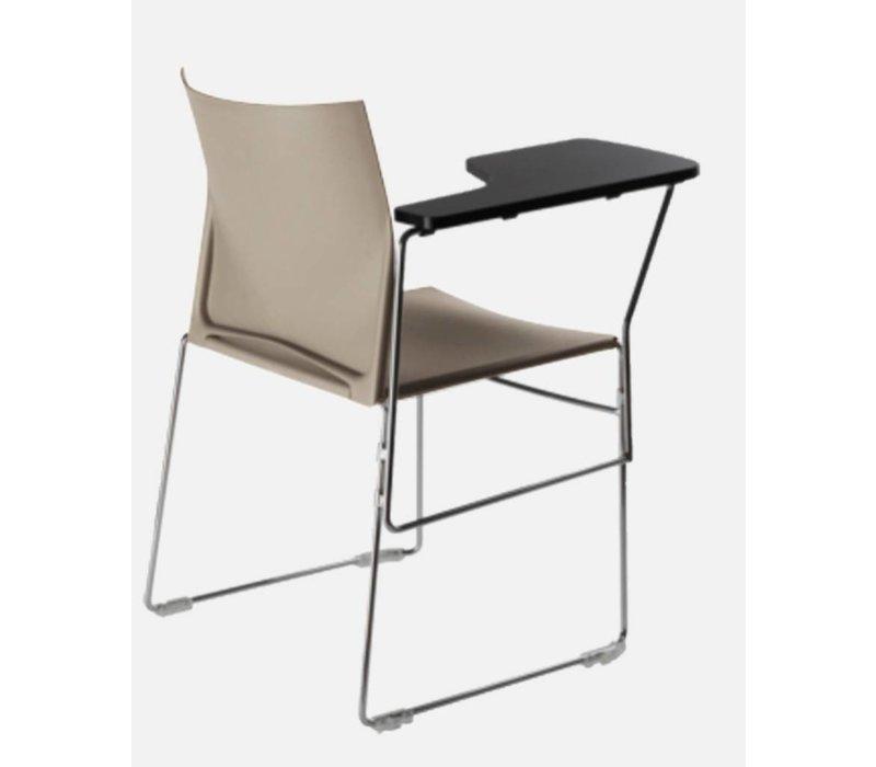 Scoop chaise avec tablette écritoire