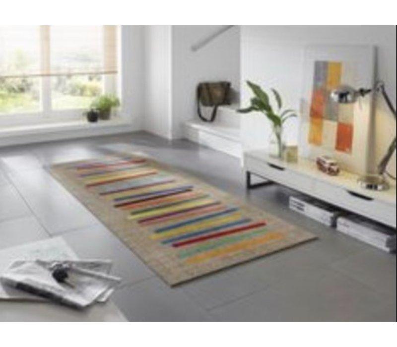 Wash+Dry Mixed Stripes deurmat