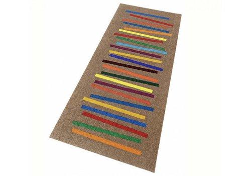 Kleentex Wash+Dry Mixed Stripes deurmat