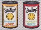 Smiley Happiness Soup deurmat