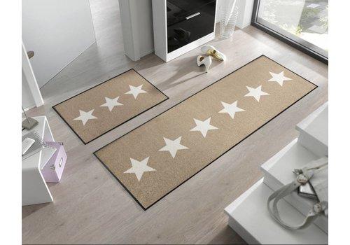 Kleentex Kleentex Stars Sand deurmat