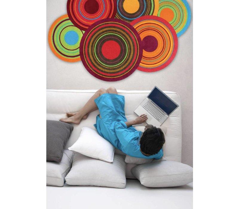 Wash+Dry Cosmic Colours deurmat