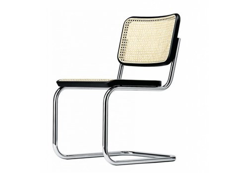Thonet S32 V chaise cannée, sans accoudoirs