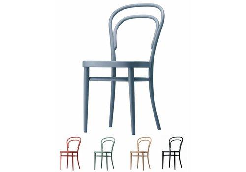Thonet 214 chaise cannée ou contre-plaqué