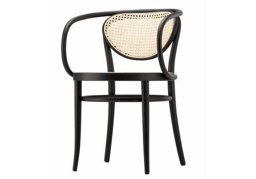 Thonet 210R stoel met gevlochten riet