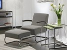 S411 fauteuil in Maharam stof