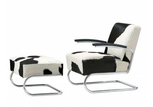 Thonet S411 LV fauteuil en vachette