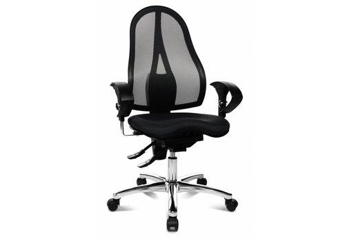 Topstar Sitness Art zwart bureaustoel