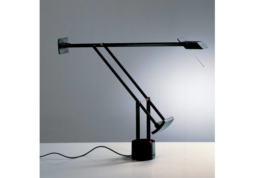 Artemide Tizio Classic bureaulamp zwart-wit-grijs
