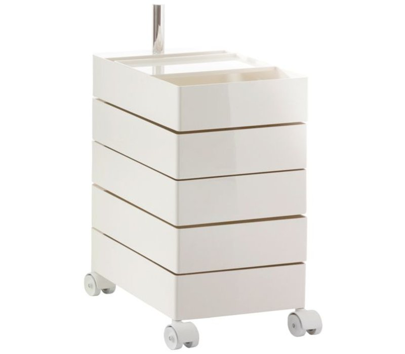 360° drawers 5 laden