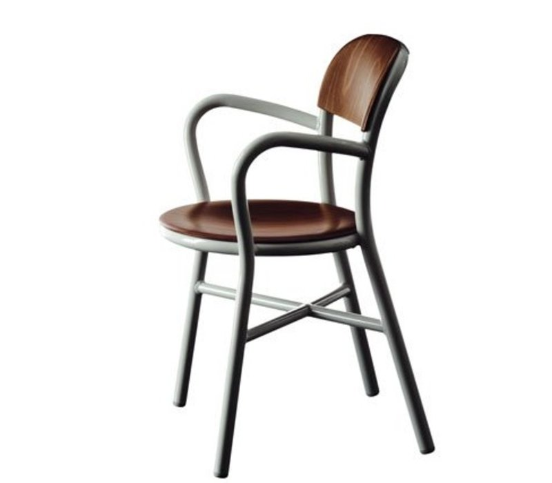 Pipe Chair stoel met armleuningen
