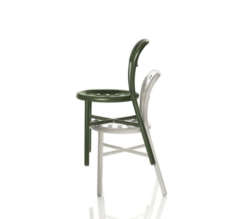 Pipe chair zonder armleuning