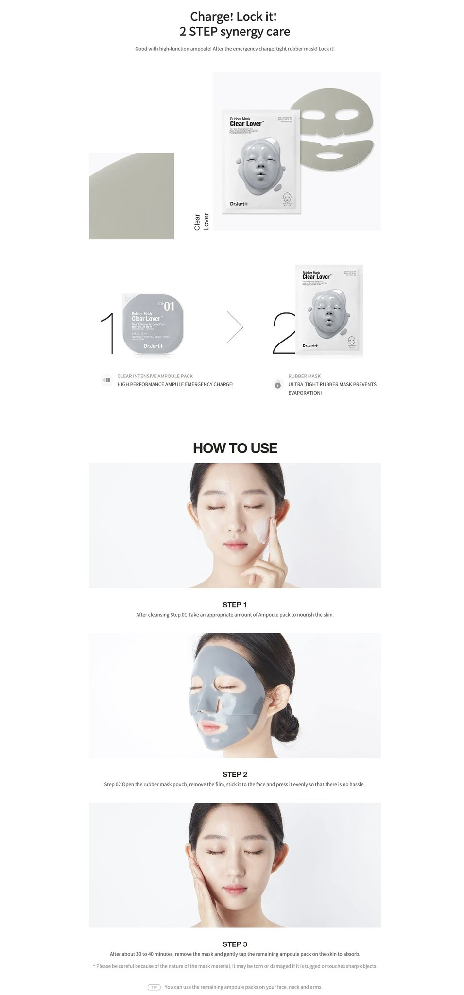 Rubber Mask Clear Lover-3