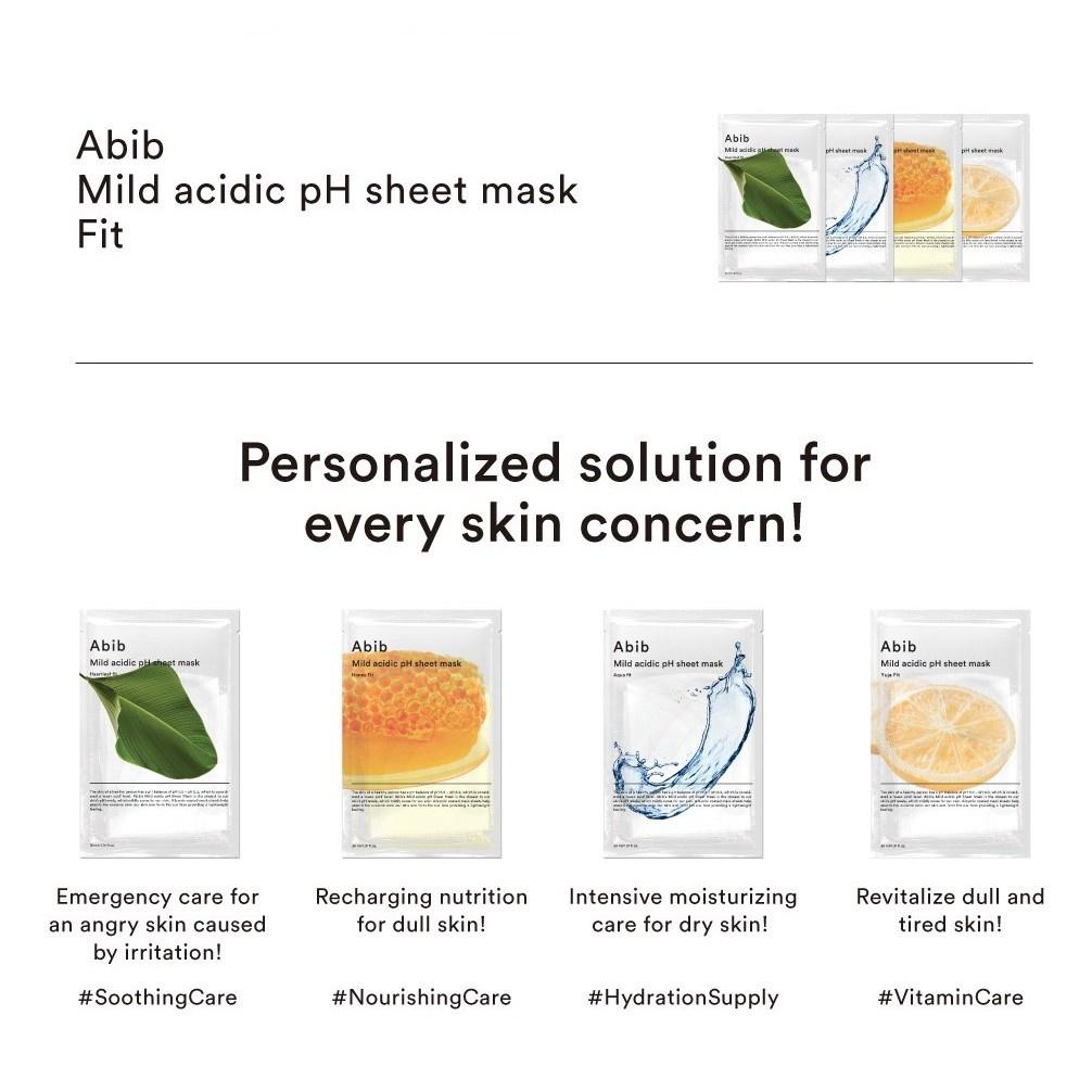 Mild Acidic pH Sheet Mask Honey Fit-4
