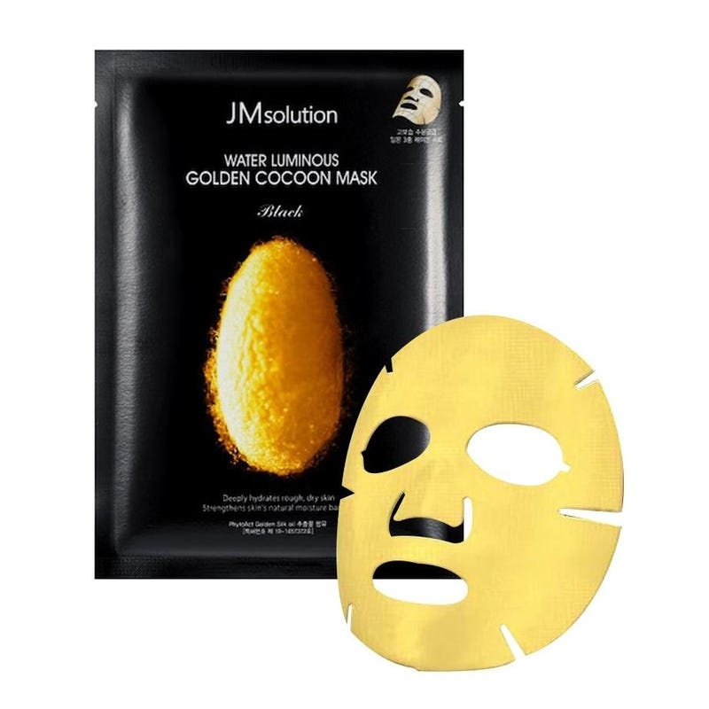 Water Luminous Golden Cocoon Mask Black-2