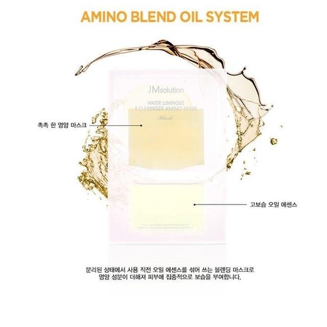 Water Luminous S.O.S Ringer Amino Mask-4