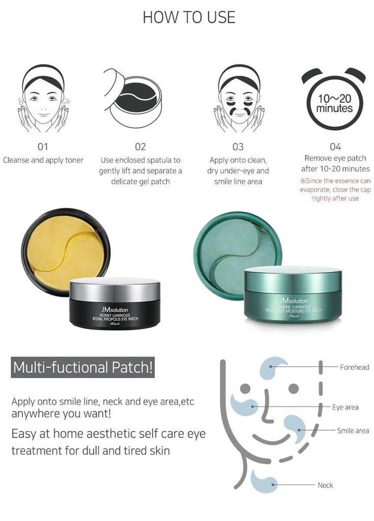 Honey Luminous Royal Propolis Eye Patch-8
