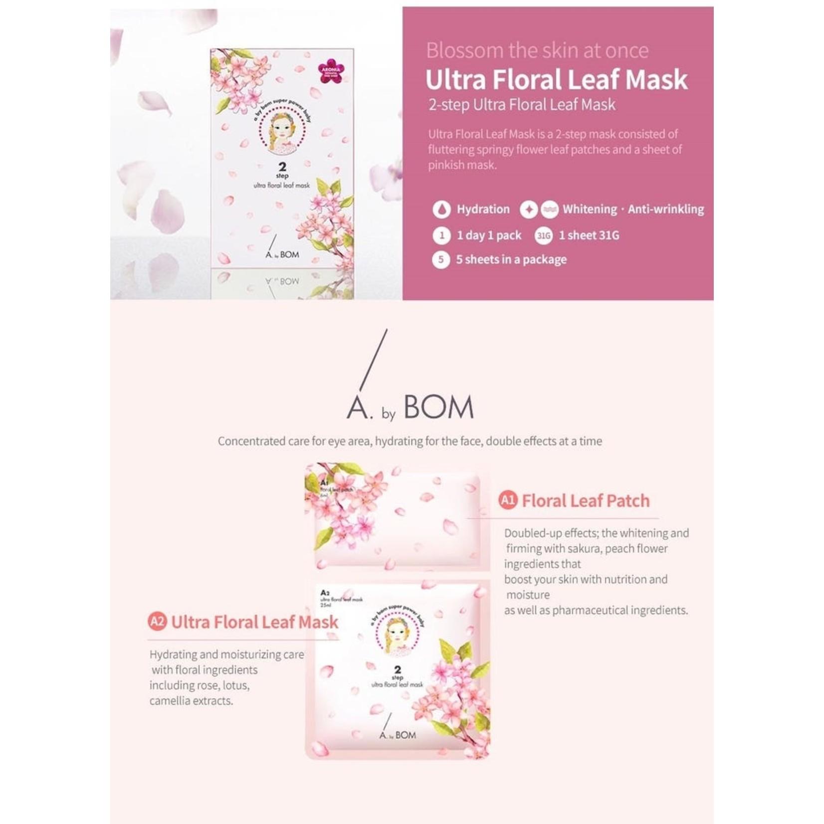 A By Bom Ultra Floral Leaf Mask