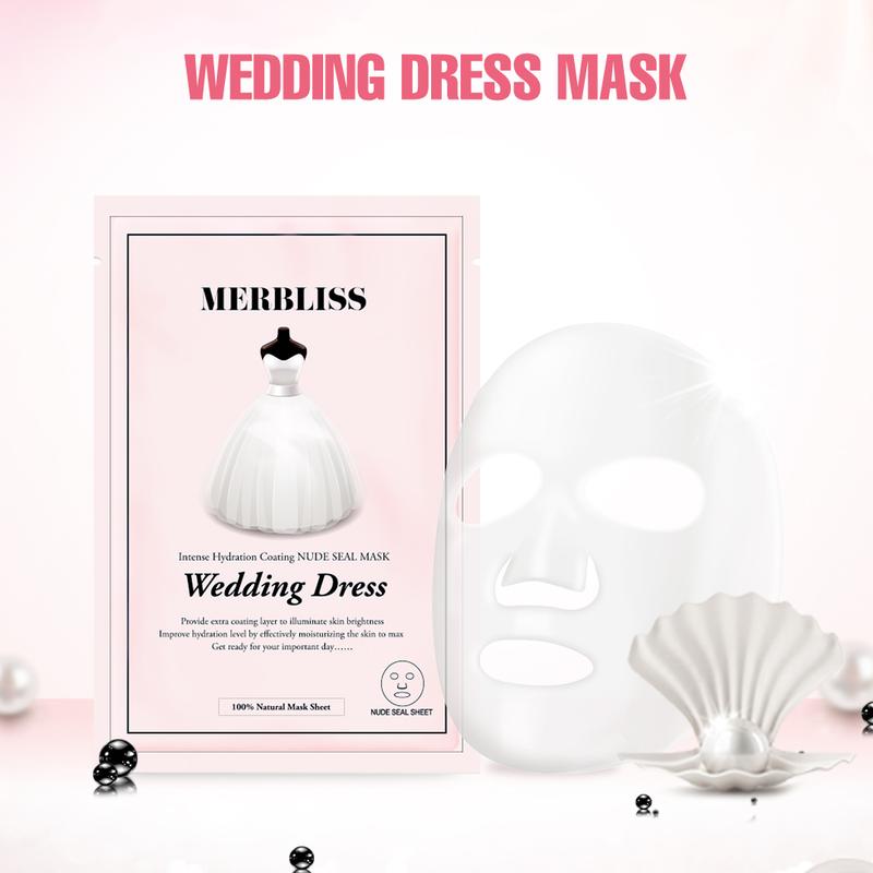 Wedding Dress Intense Hydration Coating Nude Seal Mask-3