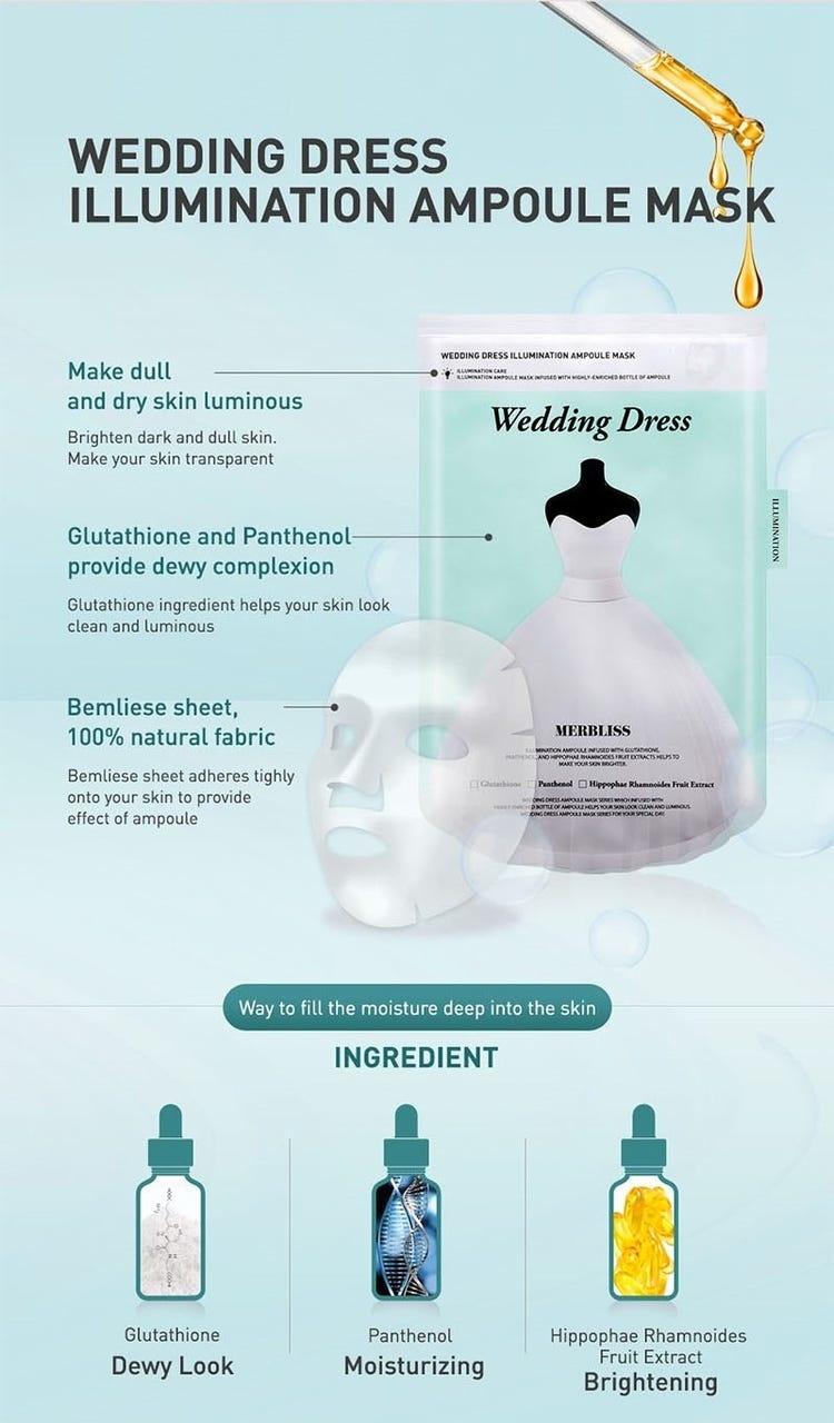Wedding Dress Illumination Ampoule Mask-3