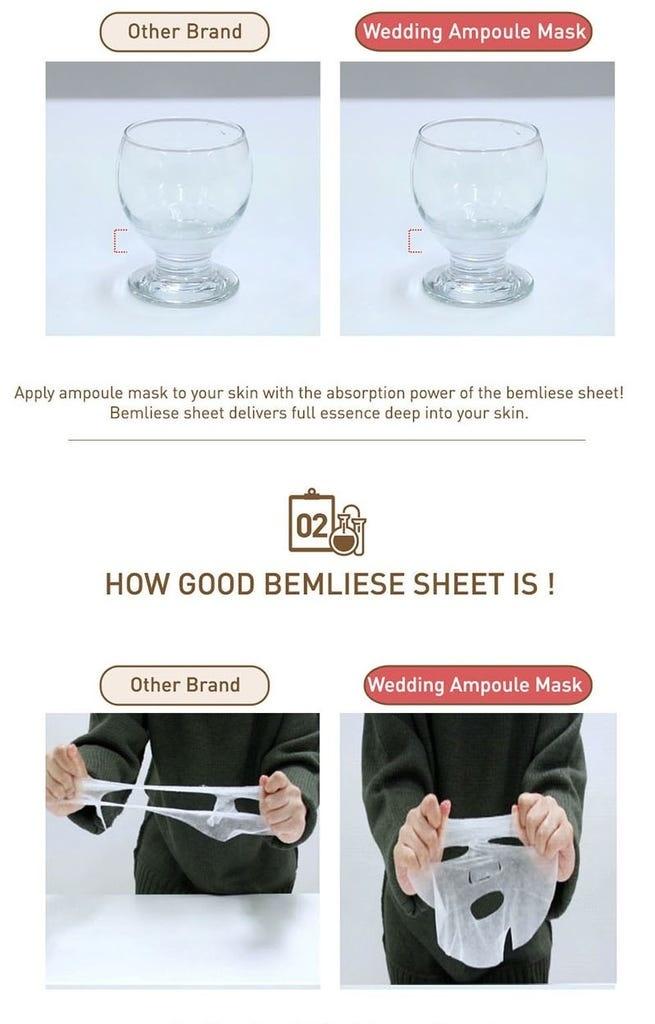 Wedding Dress Illumination Ampoule Mask-6