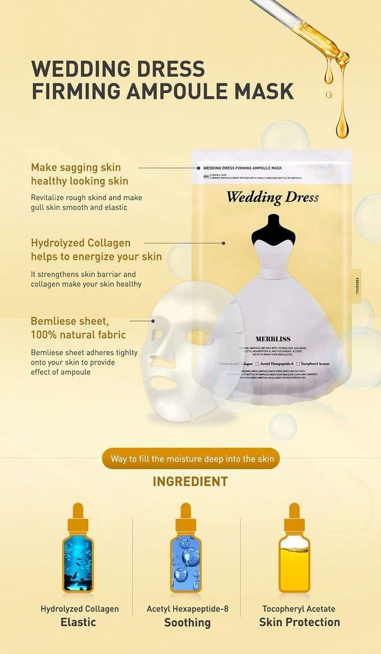 Wedding Dress Firming Ampoule Mask-4