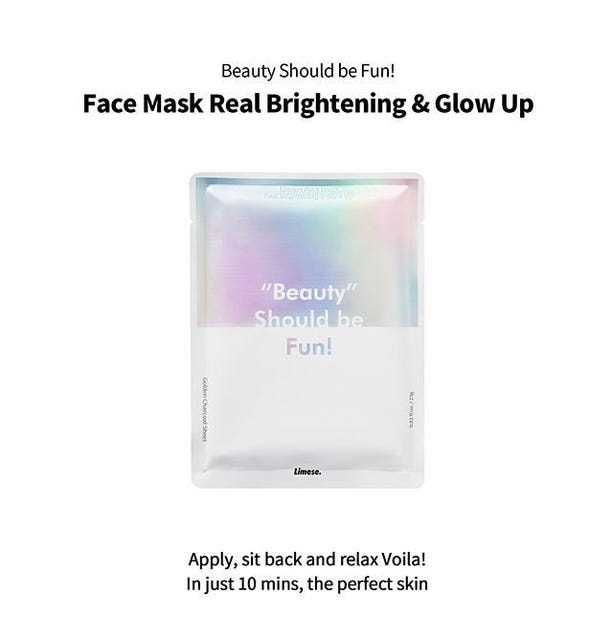 Face Mask Real Brightening & Glow Up-2