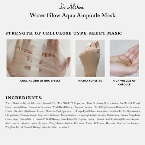 Water Glow Aqua Ampoule Mask-3