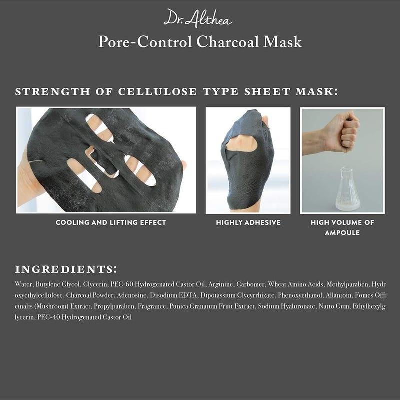 Pore-Control Charcoal Mask-4