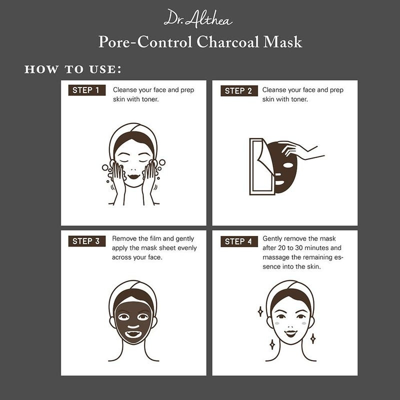 Pore-Control Charcoal Mask-5