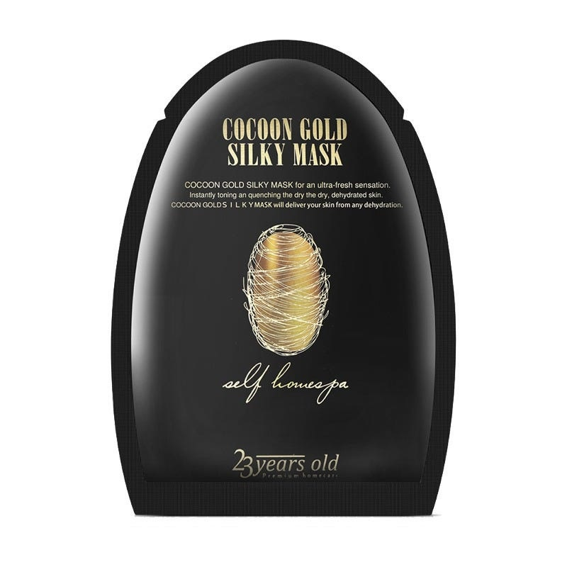 Cocoon Gold Silky Mask-1