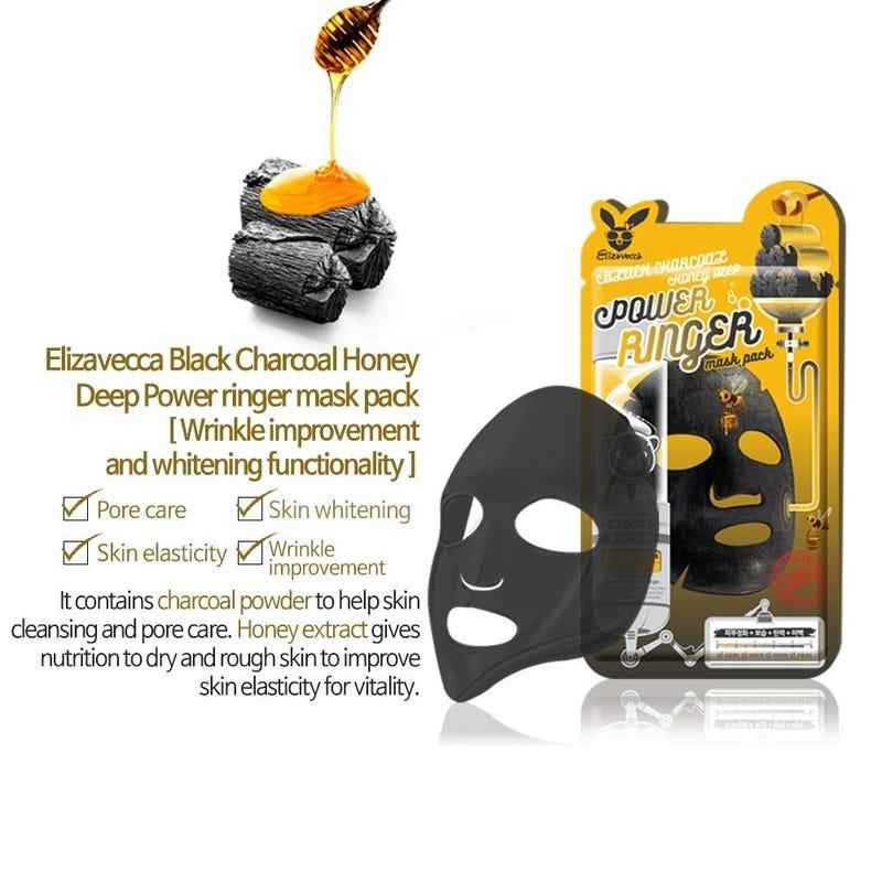 Charcoal Honey Deep Power Ringer Mask-3